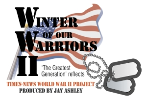 """Winter of Our Warriors"" logo"